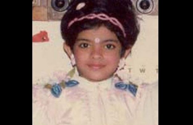 Childhood Photos of Bollywood Celebs-Priyanka Chopra