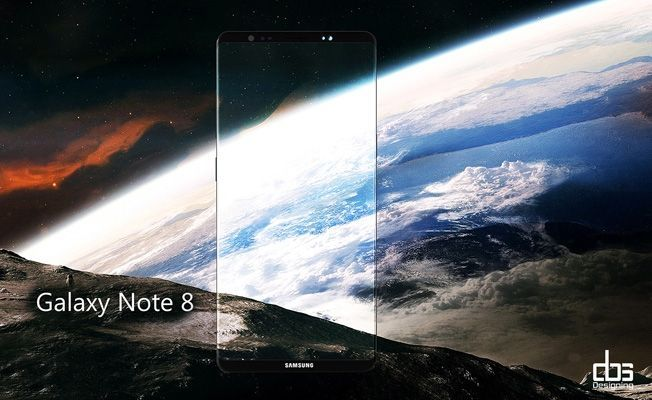 Galaxy Note 8 Concept Pictures
