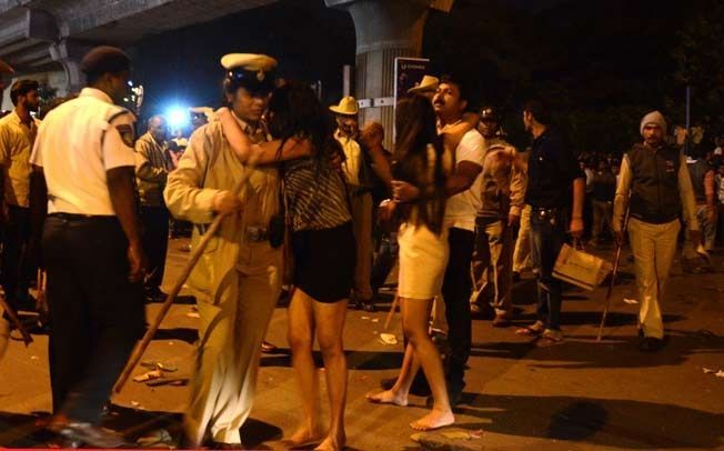 Image result for mass molestation in bangalore