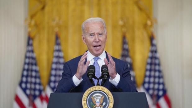 Joe Biden warnt die Taliban und droht mit einem Militärschlag. (Foto)