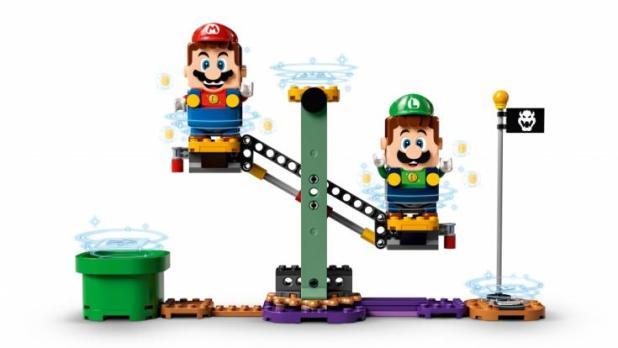 Mit Lego-Luigi ist schon bald der 2-Spieler-Modus möglich. (Foto)