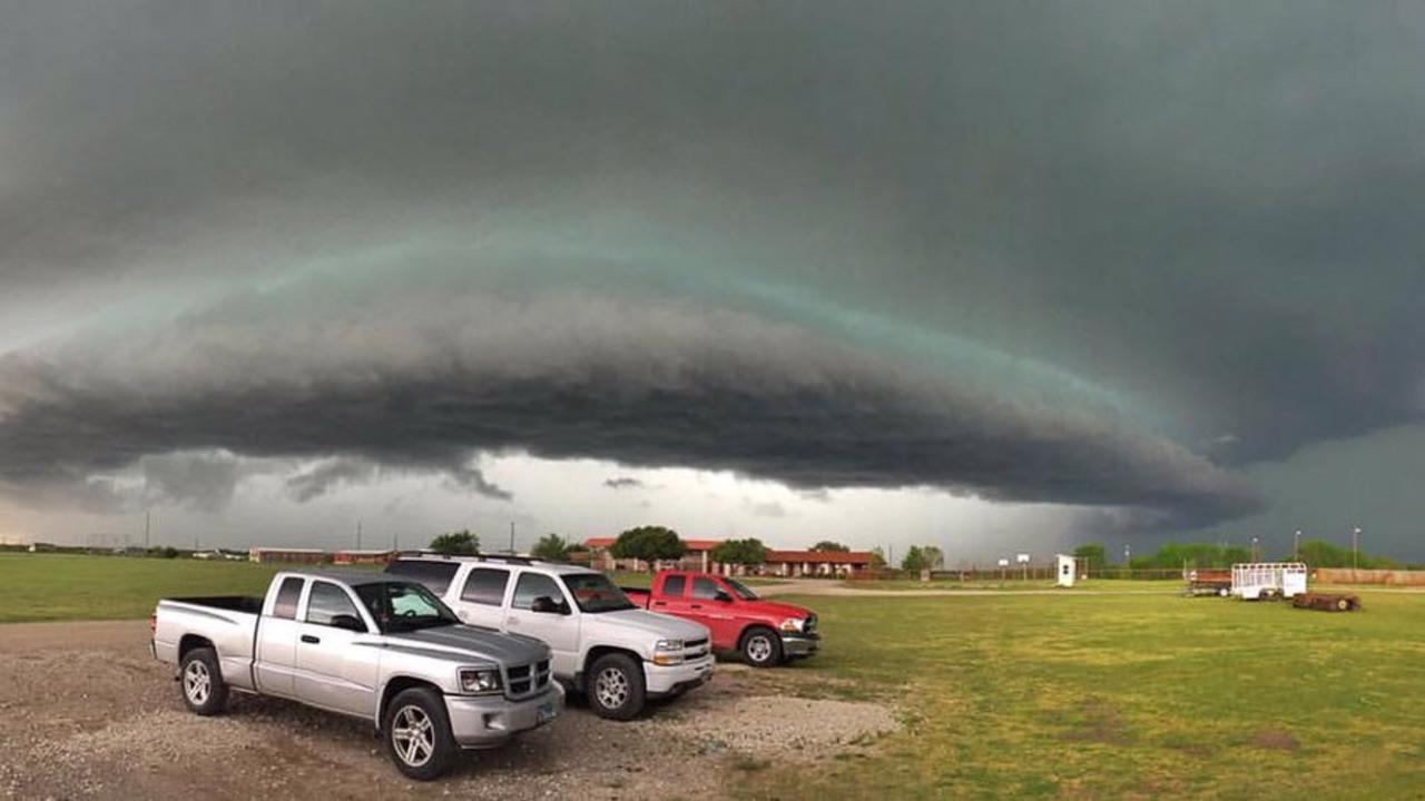 Intense Hail Storm Rips Through Dallas