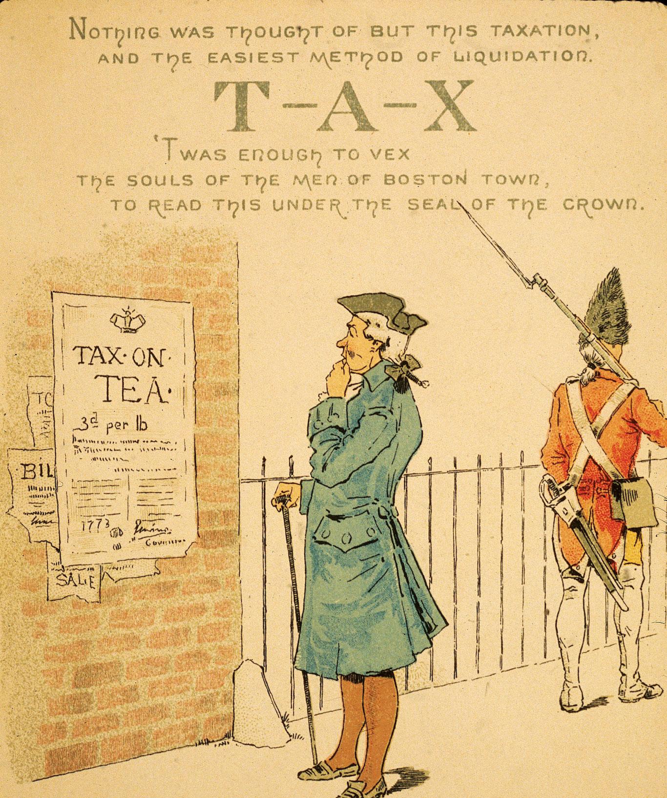 Tax Act Revolutionary War