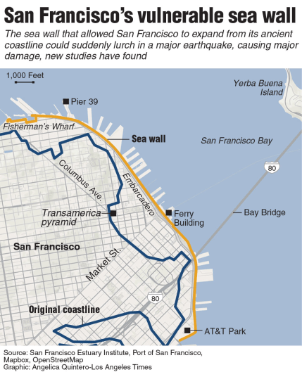 SF seawall map