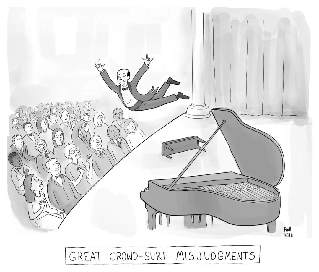 TITLE Great CrowdSurf Misjudgments