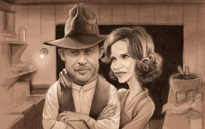 Tough Guys   The New Yorker Tom Hardy and Jessica Chastain in a Prohibition era film by John Hillcoat