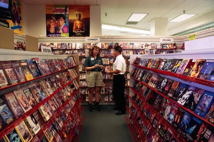 The Video Store As Film School The New Yorker