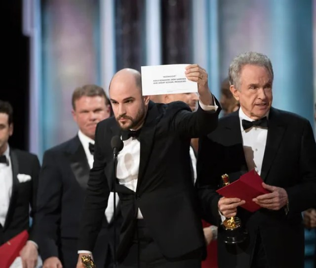 The Bizarre Finale To Sunday Nights Oscars Ceremony Brought To Mind The Theory Far From A Joke That Humanity Is Living In A Computer Simulation Gone