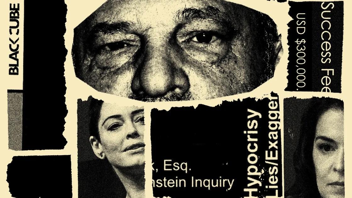 Harvey Weinstein's Army of Spies