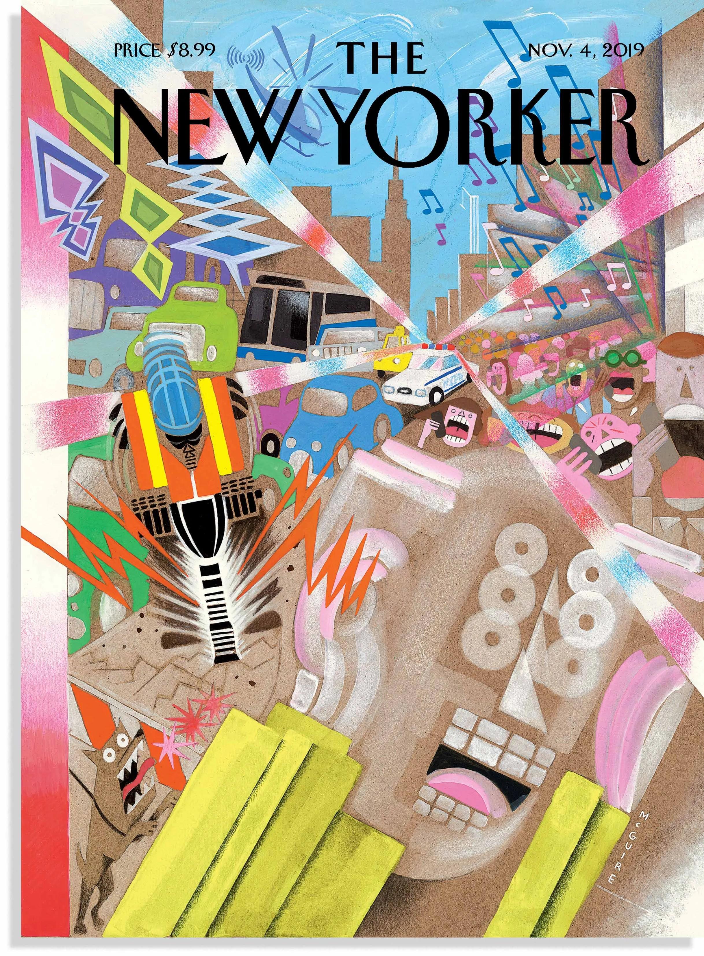 richard mcguire s noise new york