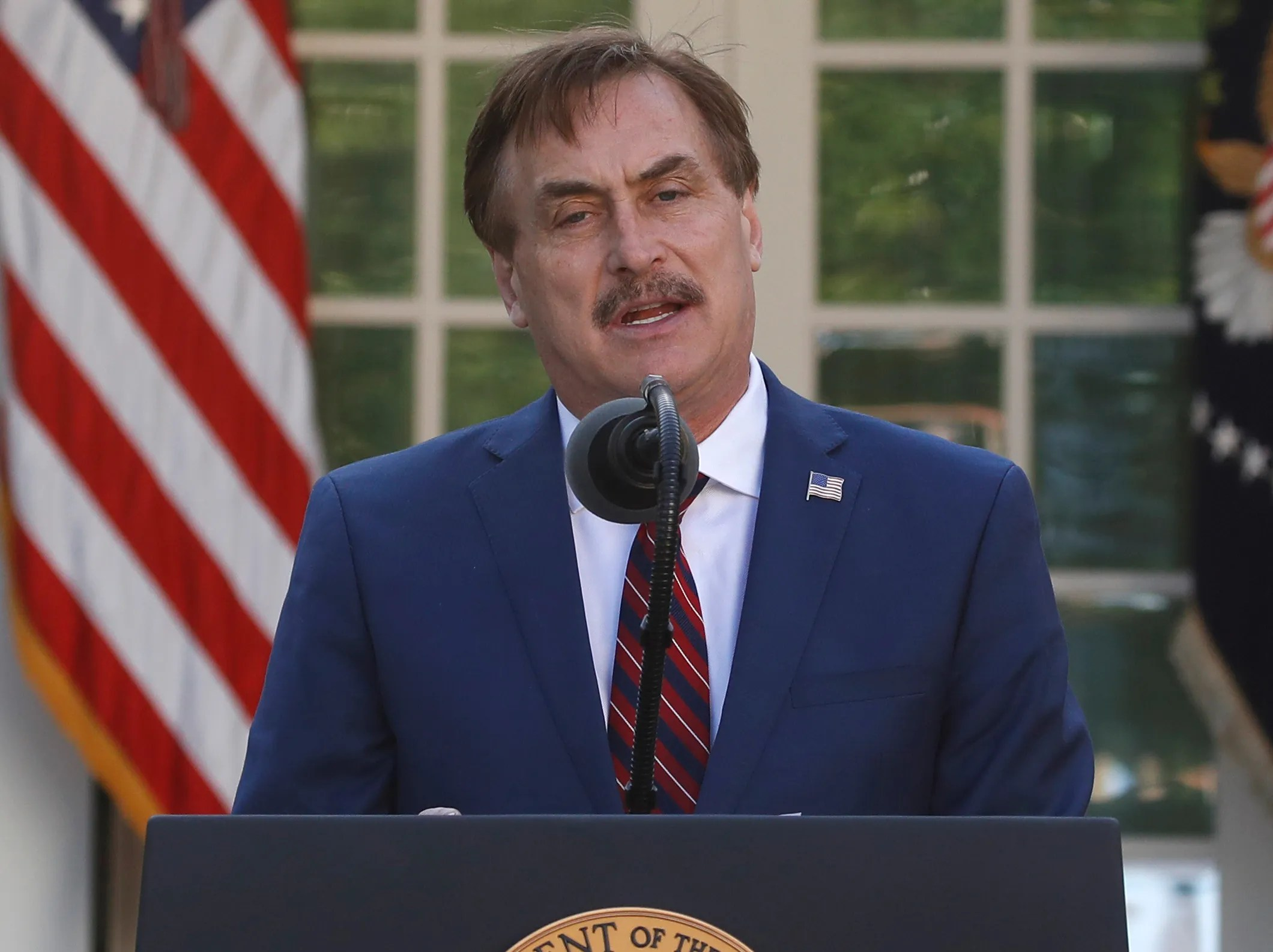 mypillow guy offers to lend trump fifty