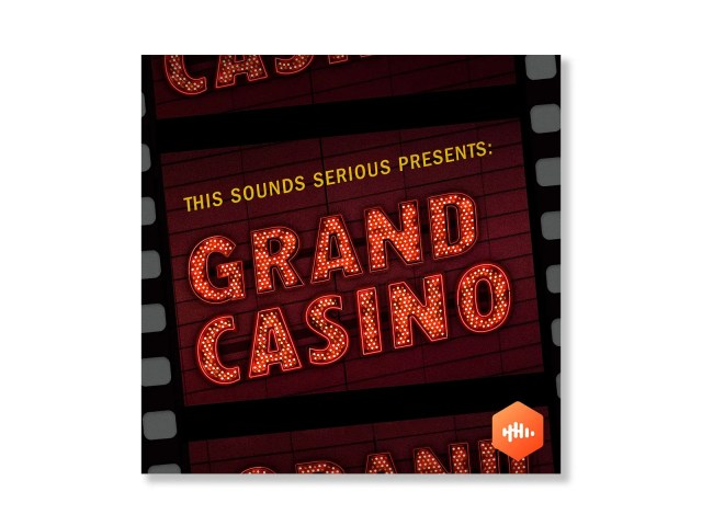 A litup sign that says GRAND CASINO.