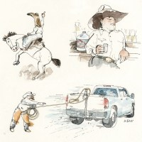 Texas Drops Precautions--by Barry Blitt