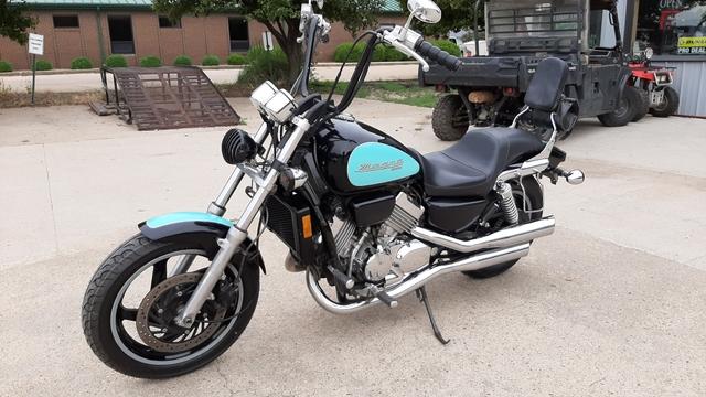 sold 1995 honda magna 750 v 4