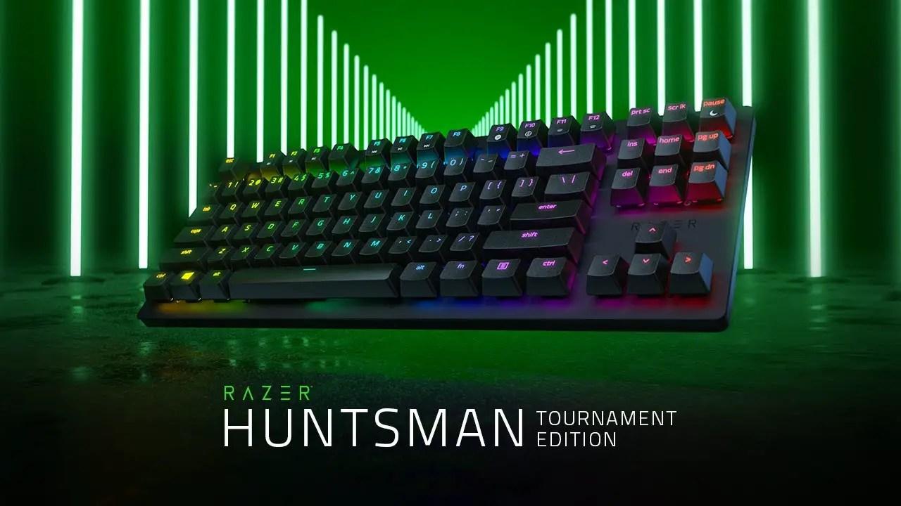 Shorter And Faster Razer Huntsman Tournament Edition