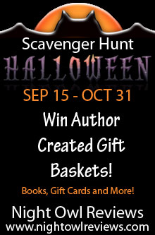 Win Books and Prizes in the Night Owl Reviews Halloween Web Hunt