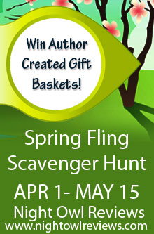 Win Books and Prizes in the Night Owl Reviews Spring Fling Web Hunt
