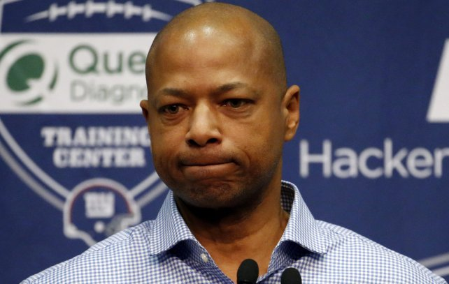 Image result for sad jerry reese