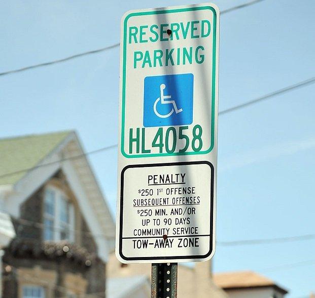 Handicap Placard Parking Rules