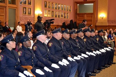 Jersey City's new police officers have eyes on community policing