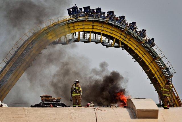 Fire At Hersheypark Arena Out Amusement Park Still Open