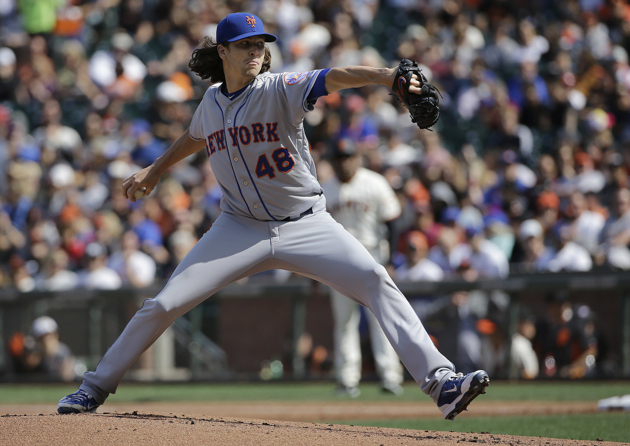 Image result for jacob degrom looking in