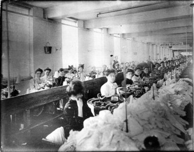 Image result for a picture of the triangle shirtwaist factory in New York