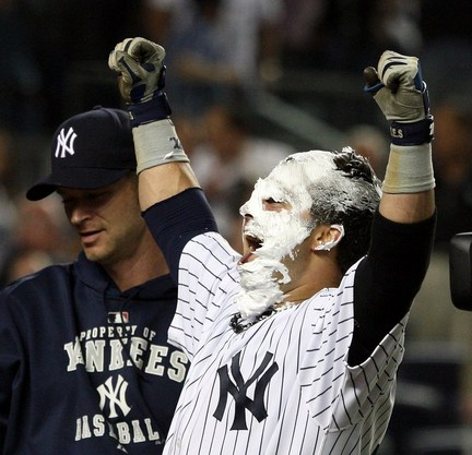 Nick Swisher pie Yankees