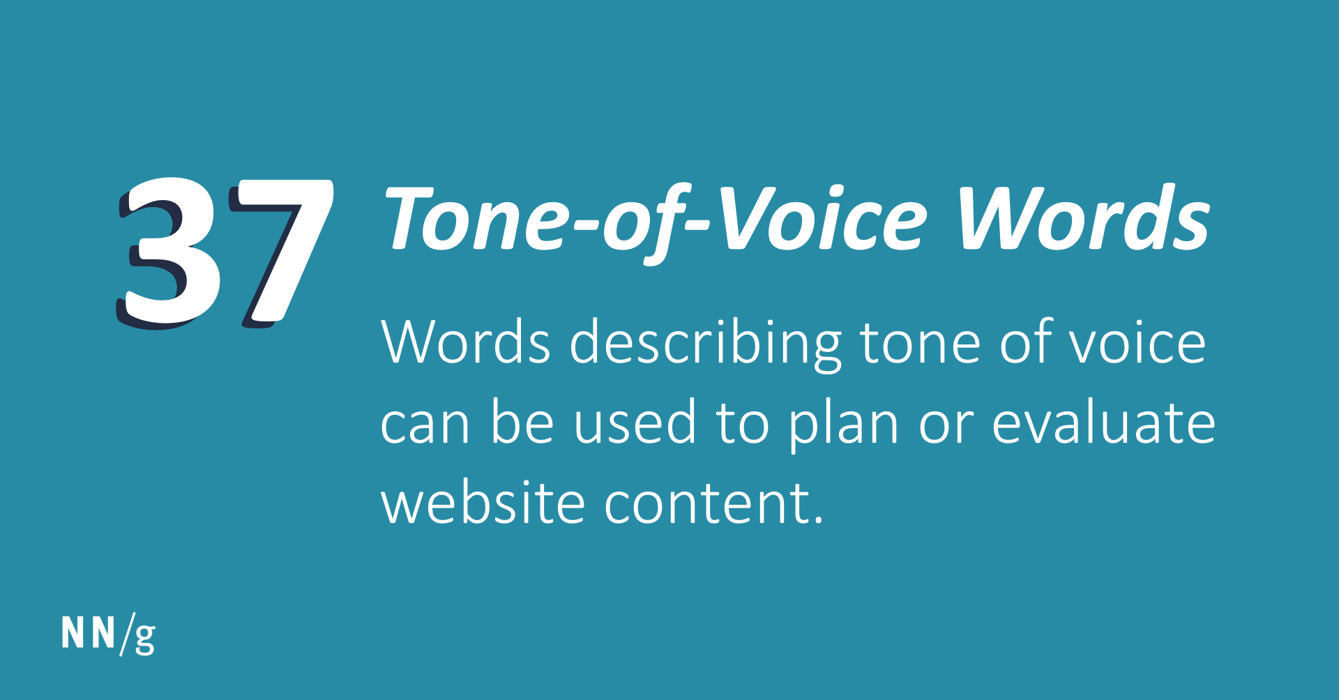 Tone Of Voice Words