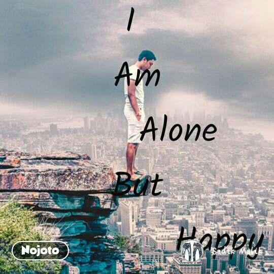 Alone But Happy From Hyderabad India Shayari Status Quotes