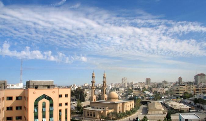 The struggling Gaza region in Palestine