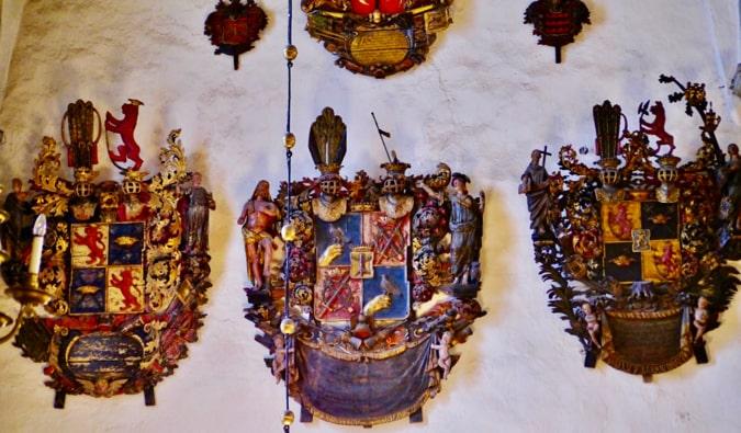 Epitaphs of the Cathedral of Saint Mary Tallinn, Estonia