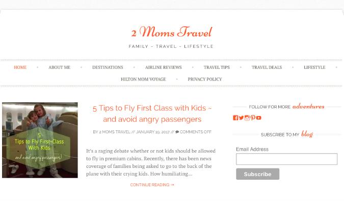 2 Moms Travel