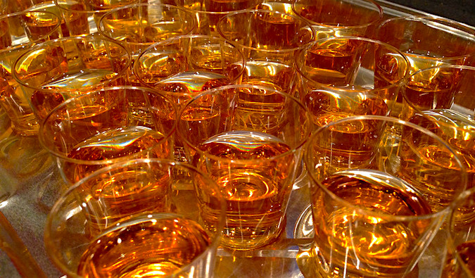 Lots of whiskeys