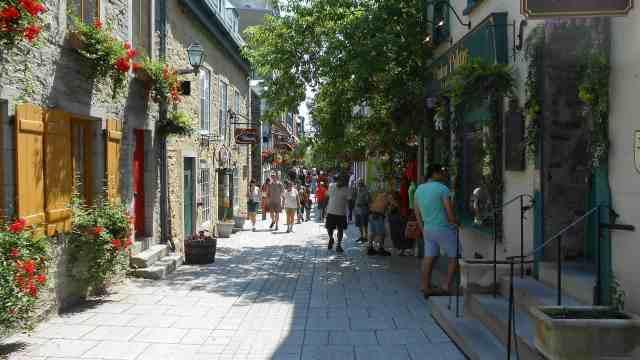 exploring Quebec City