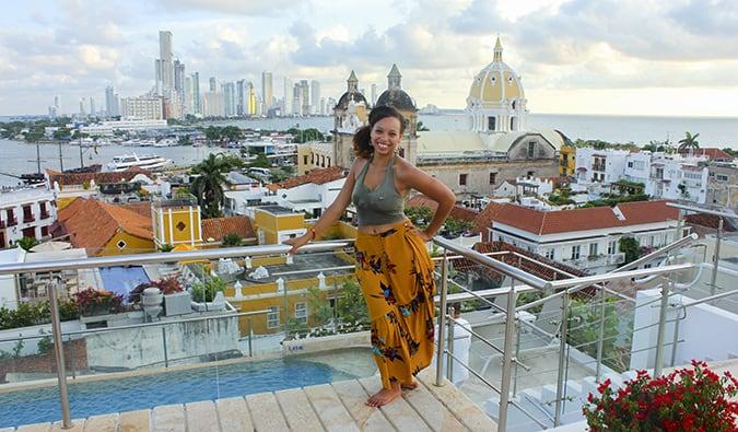 Heather in Cartagena