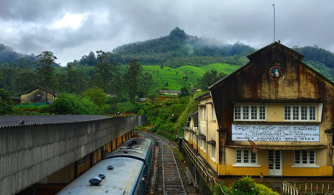train station in sri lanka