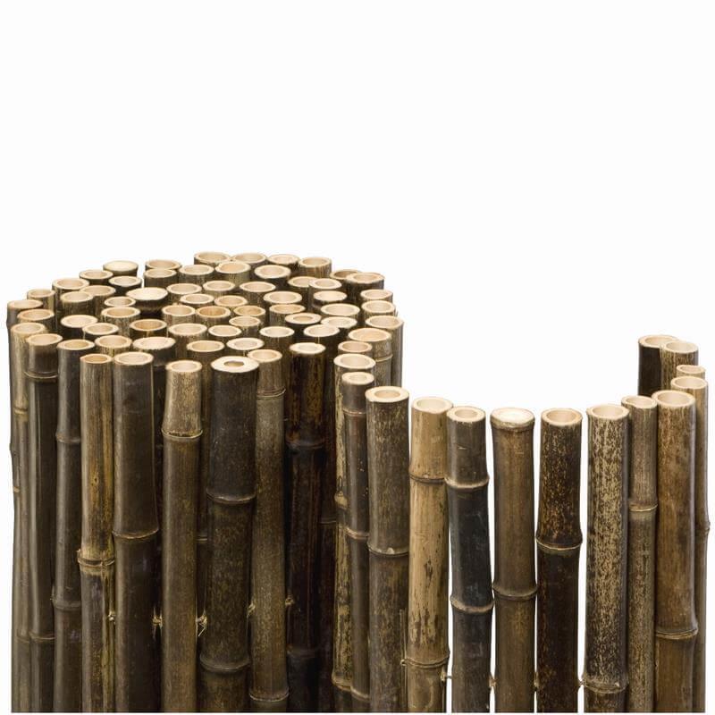 mit 24 mm durchmesser sehr starke dunkle bambusmatte