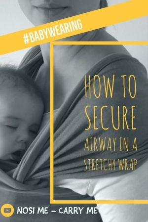 how to secure airway in a stretchy wrap