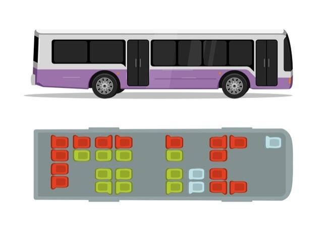 city bus safe seats