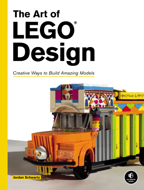 The Art of LEGO Design cover