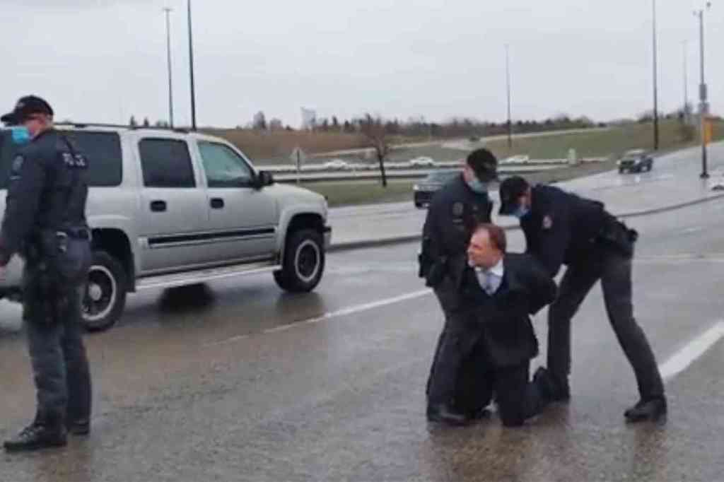 Canadian pastor Artur Pawlowski arrested for holding church service