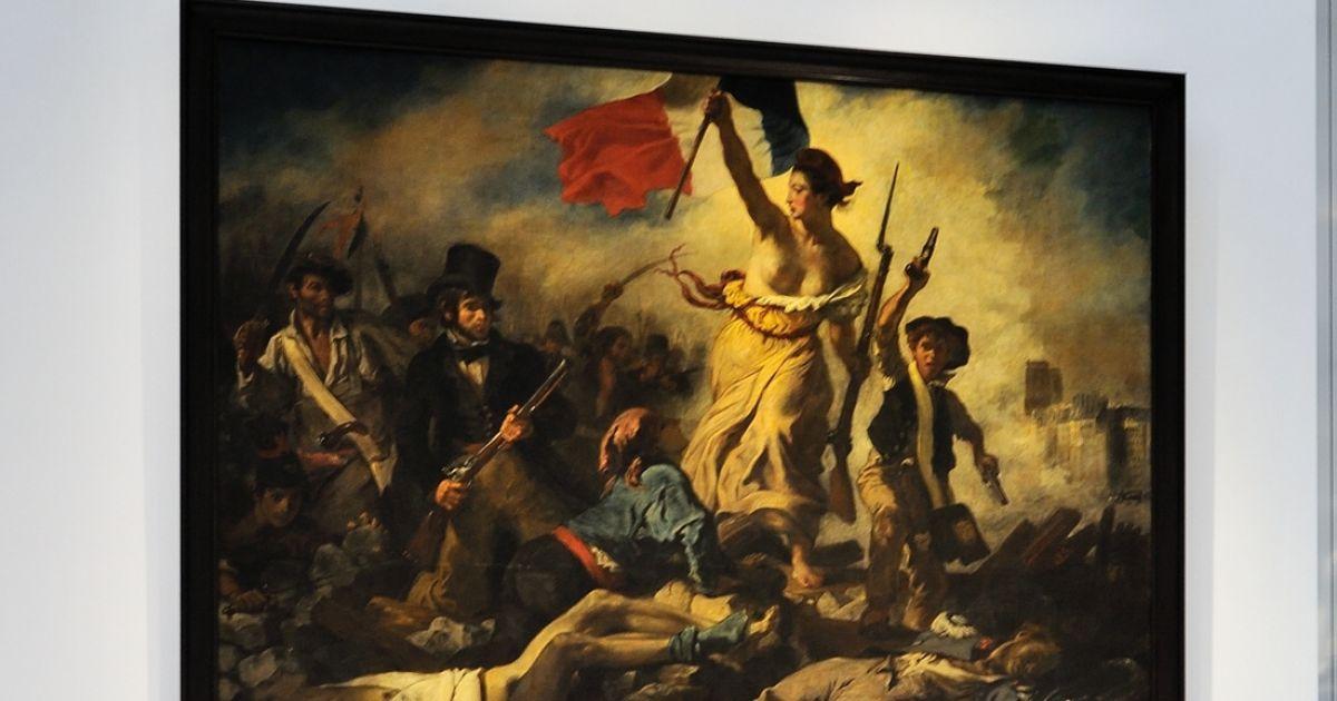 La Femme Qui A Vandalis Le Delacroix Est En Garde Vue