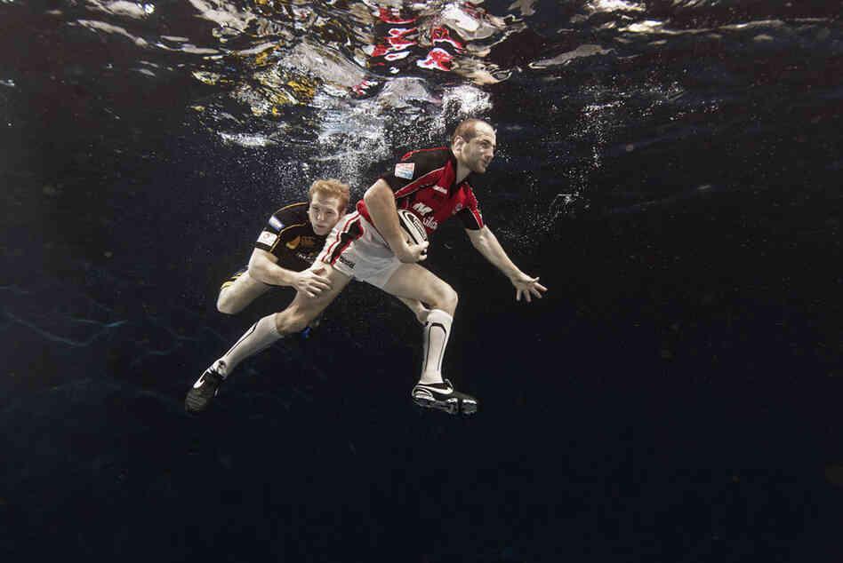 Keira Knightley Underwater