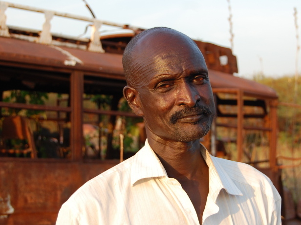 Chol Deng Chol is head of the trader's association in the Abyei market.