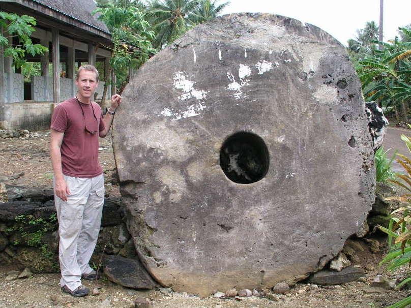 Yap stone money