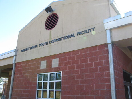 The Walnut Grove Youth Correctional Facility houses 1,200 boys and young men east of Jackson, Miss.