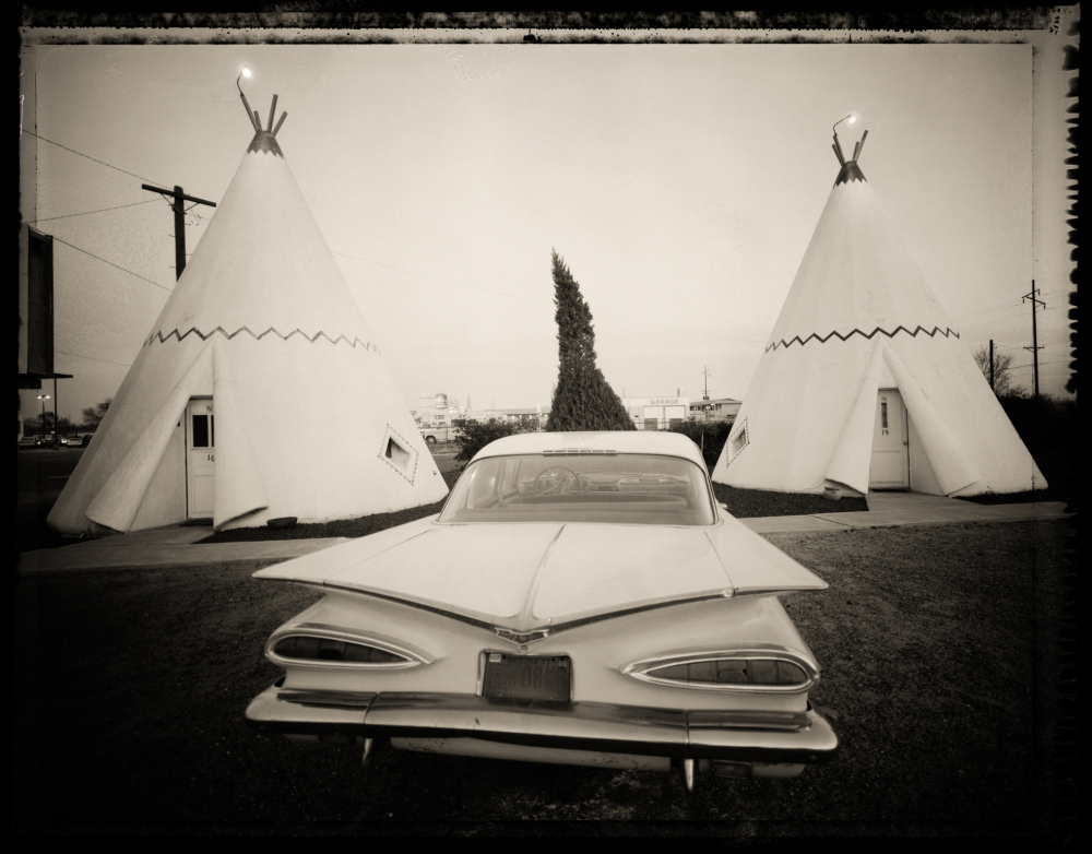 """The Wigwam Village Motel in Holbrook, Ariz., is one of the last remaining wigwam motels in the country. At one time there were 15 of them stretched all across the U.S. on Route 66 — old concrete teepees. This was number six."""