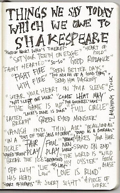 moleskine Shakespeare
