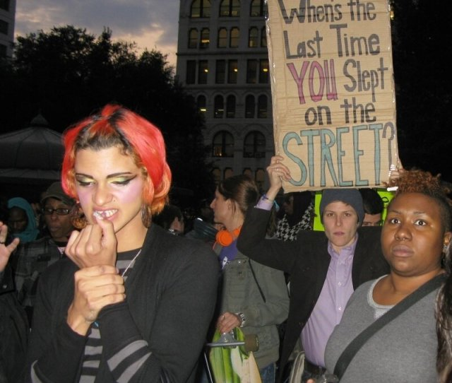 Young Gay And Homeless Fighting For Resources